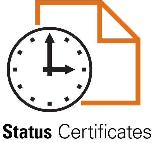 Status Certificate Request Form